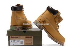 2017 New Timberland Men's 6 Inch Premium Wheat-Camo Boots $90.99