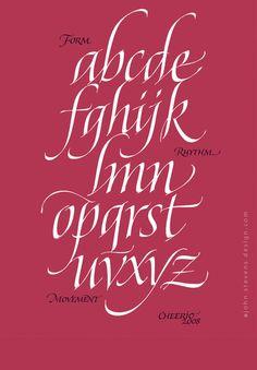 john stevens calligraphy - Italic