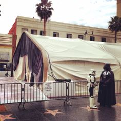 The day before the Oscars it was cloudy and drizzly and many feared the Dark Side would triumph.