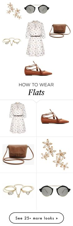 """""""Untitled #138"""" by snow21white on Polyvore featuring Yumi, Bonheur, Lipsy and Illesteva"""
