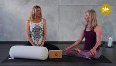 Yin-Yoga-Video mit Helga Baumgartner - Der Sattel (Supta Virasana) https://www.youtube.com/watch?v=1Z7KhUHrJKk