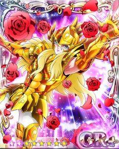 Pisces Aphrodite, manga version in anime style. Royal Demon Rose