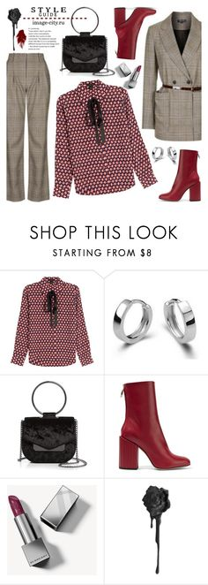 """""""Офис"""" by lyusilgrig ❤ liked on Polyvore featuring Marc Jacobs, Nasty Gal, Petar Petrov and Burberry"""
