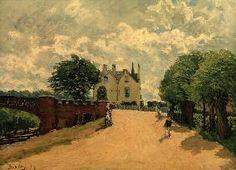 Alfred Sisley - A.Sisley, Brücke von Hampton Court