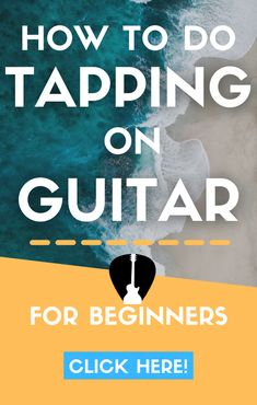 Find out how to finger tap on electric & acoustic guitar with the best technique. The full guide to tapping like Eddie Van Halen & more. Lead Guitar Lessons, Free Online Guitar Lessons, Easy Guitar Songs, Guitar Tips, Guitar Chords, Acoustic Guitar, Types Of Guitar, Cool Electric Guitars, Learn To Play Guitar