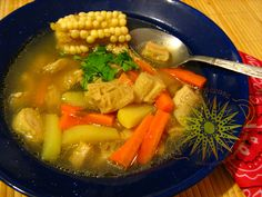 Cocina Costarricense: sopa de mondongo