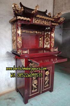Jual Altar Sembahyang Leluhur Jakarta   BERKAH MEBEL JEPARA Home Room Design, Batam, House Rooms, Jakarta, China, Furniture, Home Decor, Interior Design, Home Interior Design