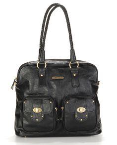 Rachel Diaper Bag - Black