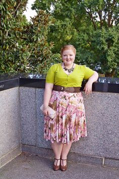OOTD: Fall Florals. plus size, fashion, style, outfit, fall fashion, taking shape, fall florals