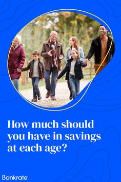 Here's how those numbers break down based on age, average income and monthly expenditure, according to nationwide data. Also included are emergency savings goals for three and six months of spending. Savings Accounts, Numbers, Goals, Age