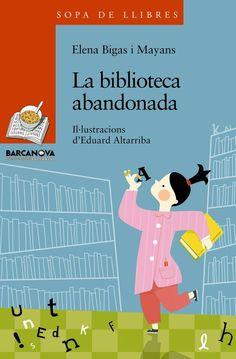 """""""La biblioteca abandonada"""" de Elena Bigas y Mayans. En una biblioteca escolar cualquiera, los libros, bien ordenados en las estanterías, están aburridos; se sienten abandonados por todo el personal del centro, nadie les hace caso. Las letras de estos libros tienen una gran necesidad de ser leídas ;  por este motivo organizan una rebelión liderada por las letras mayúsculas. Conte, Family Guy, Exercise, Reading, Children, Books, Fictional Characters, Ideas Para, Barcelona"""