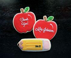 Teacher Appreciation Cookies  www.oohlalabakingco.com
