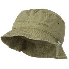 Vacational Cotton Twill Bucket Hat - Khaki