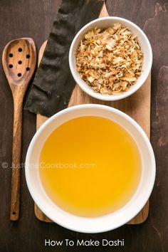 How To Make Dashi   Stock Recipe   sherra One Cookbook  (It's easier than you think!)