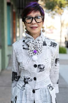 ADVANCED STYLE: Purple Accents