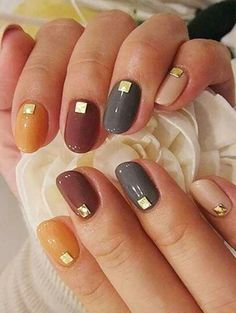 Otoño chic Round Nails, Beauty, Fingernail Designs, Round Wire Nails, Beauty Illustration, Rounded Nails