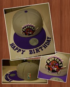 Both logos are hand drawn with edible markers. The cake is funfetti featuring Raptors colors with chocolate buttercream. Boyfriend Birthday Card Message, Birthday Card Messages, 13 Birthday Cake, 13th Birthday, Birthday Parties, Cake Toronto, Hat Cake, Basketball Party, Toronto Raptors