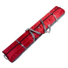 170 FULLY PADDED DOUBLE SKI BAG W/WHEELS- RED by Select Sportbags. $79.95. FULLY PADDED 170cm DOUBLE SKI BAG W/WHEELS  from  SELECT SPORTBAGS  COMPLETELY PADDED END TO END T0 BETTER PROTECT EQUIPMENT  Double Wheeled Ski Bag holds 2 pair of skis up to 170 cm. This bag utilizes inline skate wheels to insure smooth travel and is pulled by a soft handle. It has two internal compression straps and two external compression straps to secure the skis. The lining is a tear-...