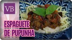 Espaguete de Pupunha - Você Bonita (26/01/17)