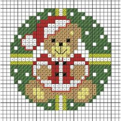 Cross Stitch Christmas Ornaments, Xmas Cross Stitch, Cross Stitch Cards, Cross Stitch Borders, Cross Stitch Baby, Christmas Cross, Cross Stitch Designs, Cross Stitch Kits, Cross Stitch Patterns