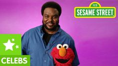 Craig Robinson Dresses as a Giant Broccoli to Teach Elmo the Word 'Pattern' on 'Sesame Street' - Perfect Pin Preschool Math, Math Classroom, Teaching Math, In Kindergarten, Maths, Craig Robinson, Math Patterns, Coding For Kids