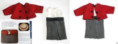 Ensemble Domino robe vêtements Poupée ancienne Bleuette 29cm 1934 | eBay
