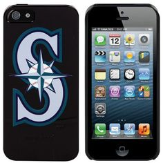 MLB Seattle Mariners iPhone 5 Snap-On Case - Black by Football Fanatics. $29.95. Seattle Mariners iPhone 5 Snap-On Case - BlackScreen print graphicsDesigned in the USAImportedOne-piece snap-on installationOfficially licensed MLB productLightly textured hard shell construction for comfort and durabilityAccess to all ports, controls and featuresPolycarbonate shellPolycarbonate shellLightly textured hard shell construction for comfort and durabilityOne-piece snap...