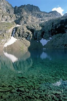Puyvachier Lake near La Meije Glacier, Barre des ecrins, French Alps, France Parc National, National Parks, Great Places, Places To See, Beautiful World, Beautiful Places, Provence, Chamonix Mont Blanc, Paradise On Earth