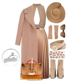 """""""Nude Lover"""" by iuliastyles on Polyvore featuring Topshop, Miss Selfridge, Rochas, Christian Louboutin, Yves Saint Laurent, Skinnydip, GUESS, Michael Kors, Barneys New York and Eugenia Kim"""