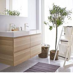 Une salle de bains scandinave IKEA
