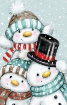 Christmas Rock, Christmas Scenes, Christmas Pictures, Christmas Snowman, All Things Christmas, Christmas Time, Vintage Christmas, Christmas Crafts, Merry Christmas