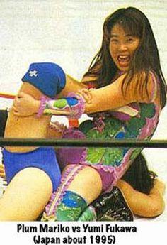 The late Plum Mariko - Female Japanese Wrestlers