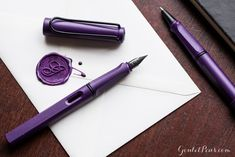 Coming Soon: 2016 Special Edition Lamy Safari Dark Lilac!