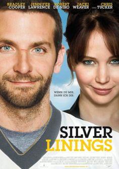 Silver Linings-Großartige Tragikomödie mit Bradley Cooper, der gegen sein Schönling-Image einen gebrochenen Footballer mit Aggressionsproblemen spielt, der seine Frau zurückgewinnen will.