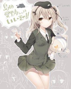 【二次】ガルパンの島田愛里寿ちゃんの可愛い二次画像まとめ | むちむちエロアニメ画像+