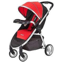 b9eaf052ca Recaro Performance Denali Easy One Hand Fold Single Baby Stroller SCARLET  NEW Travel System