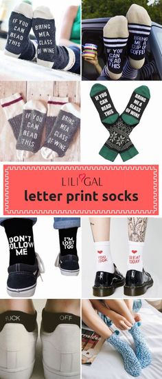 8f97e849d4c8 Letter Print Black One Pack Ankle Socks