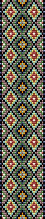 Another one of very simple loom patterns Peyote Stitch Patterns, Seed Bead Patterns, Weaving Patterns, Bracelet Patterns, Bead Loom Bracelets, Tear, Tapestry Crochet, Seed Bead Jewelry, Loom Weaving