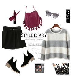 """""""zaful"""" by elly-852 ❤ liked on Polyvore featuring Cynthia Rowley, Tiffany & Co., Illesteva and Chanel"""