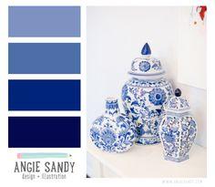 Color Crush 3.5.2014 - Angie Sandy #colorcrush #indigo