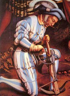 1524 allemagne par hans holbein l'ancien arbalétrier 01