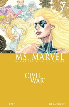 "Marvel Vol. 2 Civil War"" by Brian Reed available from Rakuten Kobo. Marvel enlists in the Civil War as she joins forces with Simon ""Won. Marvel Comic Universe, Ms Marvel, Comics Universe, Captain Marvel, Comic Book Covers, Comic Books, Civil War Books, Wonder Man, Thing 1"