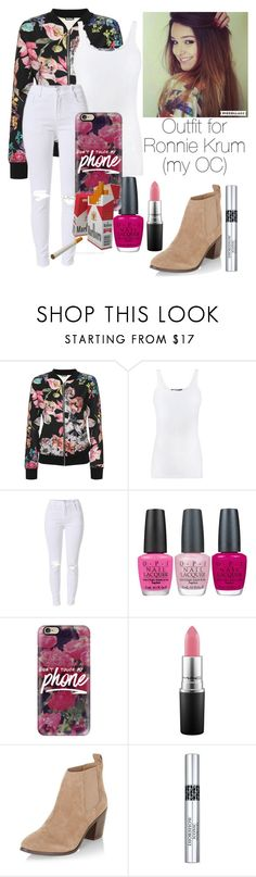 """""""Untitled #37"""" by mymusicrocks ❤ liked on Polyvore featuring WearAll, Vince, OPI, Casetify, MAC Cosmetics, ETUÍ, New Look and Christian Dior"""