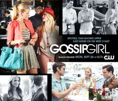 Gossip Girl/ After having heard so much of this show...I finally pulled it up on Netflix and started watching it...I am IN LOVE and ADDICTED NOW.