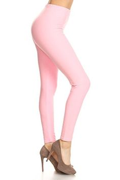 Product review for Leggings Depot Ultra Soft Basic Solid Plain Best Seller Leggings 128 - Carry 1000+ Print Designs (Pink) -  Stretch Fabric + Full Length Leggings: A figure flattering & ultra comfortable fit!! Solid Color Design: Will match with nearly anything! Great for layering under dresses and tops! Wear casually or as yoga pants! Comfort and movability!  -  http://www.bestselleroutlet.net/product-review-for-leggings-depot-ultra-soft-basic-solid-plain-best-seller-