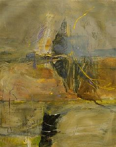 2006 - Morning mist - Canadian artist  Denys Arel - acrylic on canvas