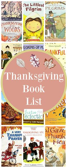 Thanksgiving Books for Kids | Lextin Eclectic