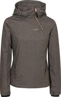 Ragwear Shred Winterjacket black-melange | Titus Onlineshop