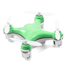 Cheerson CX10 4CH 24GHz 6 Axis Gyro LED Rechargeable Mini Nano RC UFO Quadcopter  Green ** Visit the image link more details.