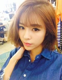 #ulzzang short hair